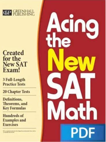 Acing The New SAT Math